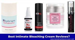 best intimate bleaching cream